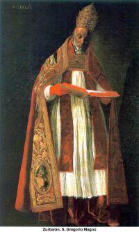 Zurbaran: Święty Grzegorz Wielki
