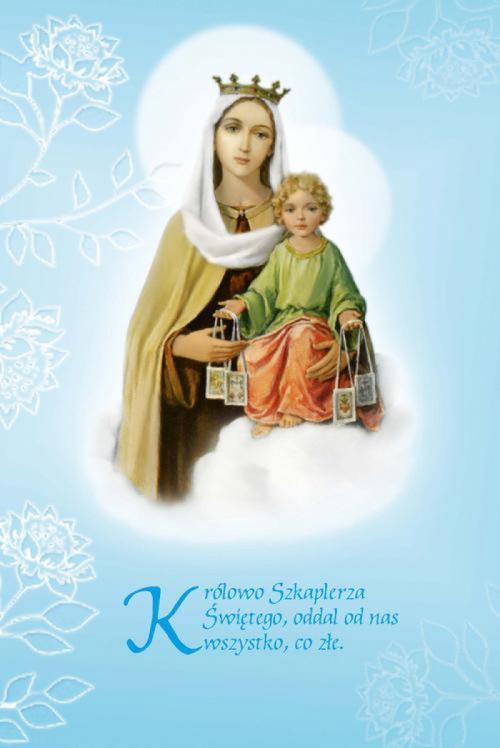 Znalezione obrazy dla zapytania matka boża szkaplerzna